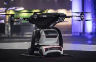 Audi Showcases Pop.Up.Next Air Taxi at Amsterdam Drone Week
