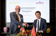 Baidu Signs Agreement with Bosch and Continental on self-driving tech