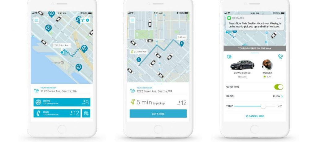 BMW Strengthens Image as Mobility Company with One App that Combines Ride Hailing and Car Sharing