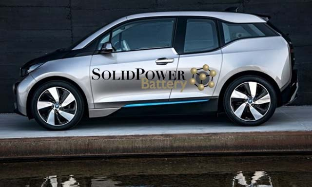 BMW Partners with Solid Power to Develop Solid State