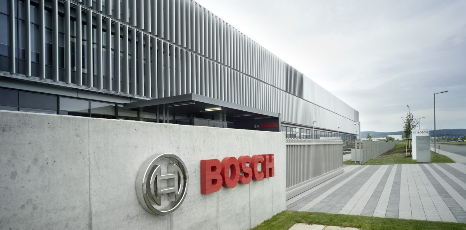 Bosch Decides Against Production of Battery Cells for Electric Cars