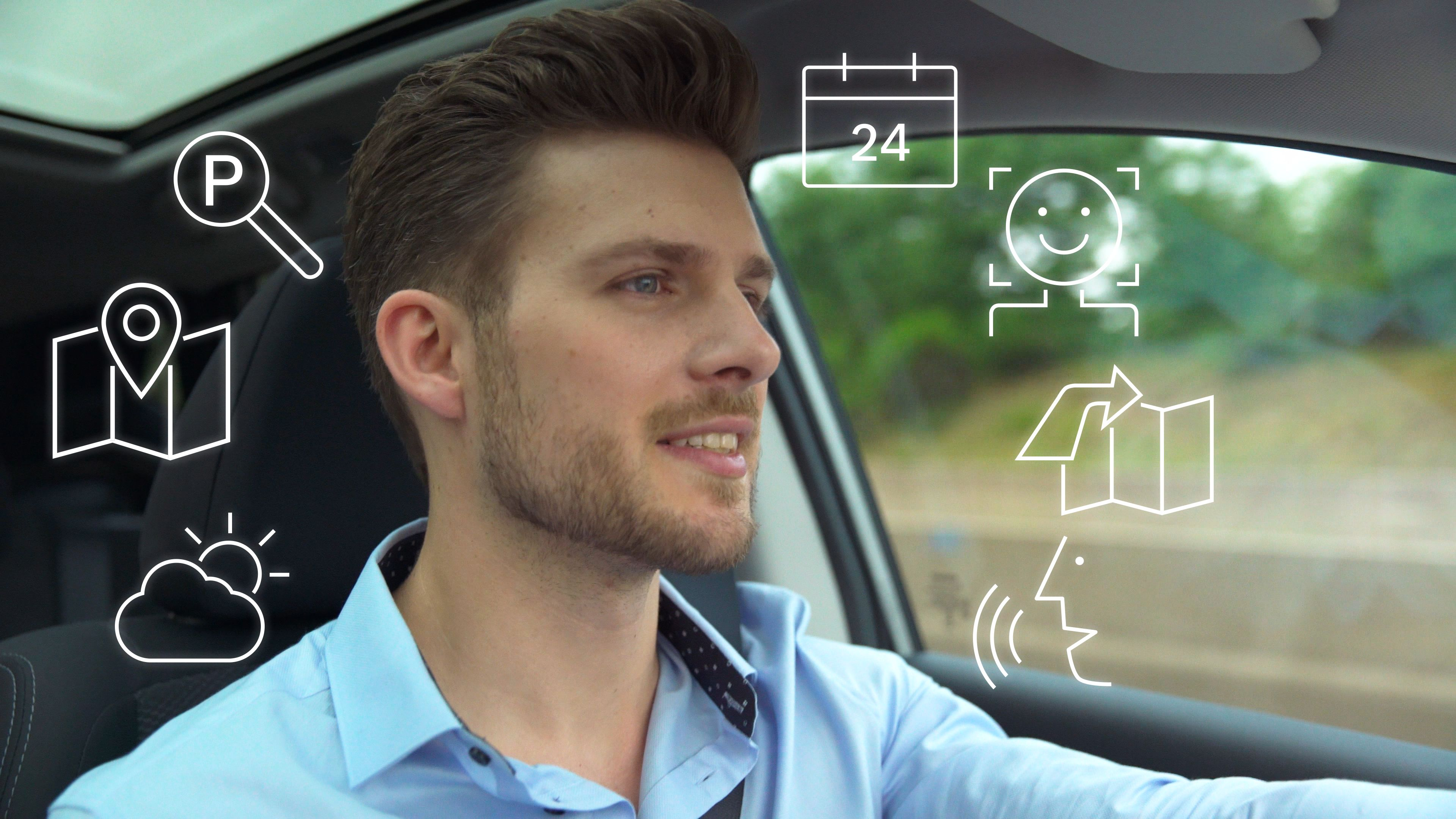 Bosch Voice Assistant Minimizes Driver Distraction