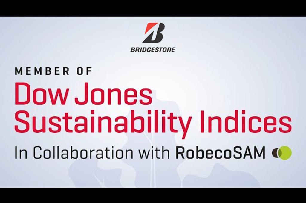Bridgestone Named to Dow Jones Sustainability World Index for Third Straight Year