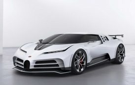 Bugatti Unveils Centodieci Hypercar