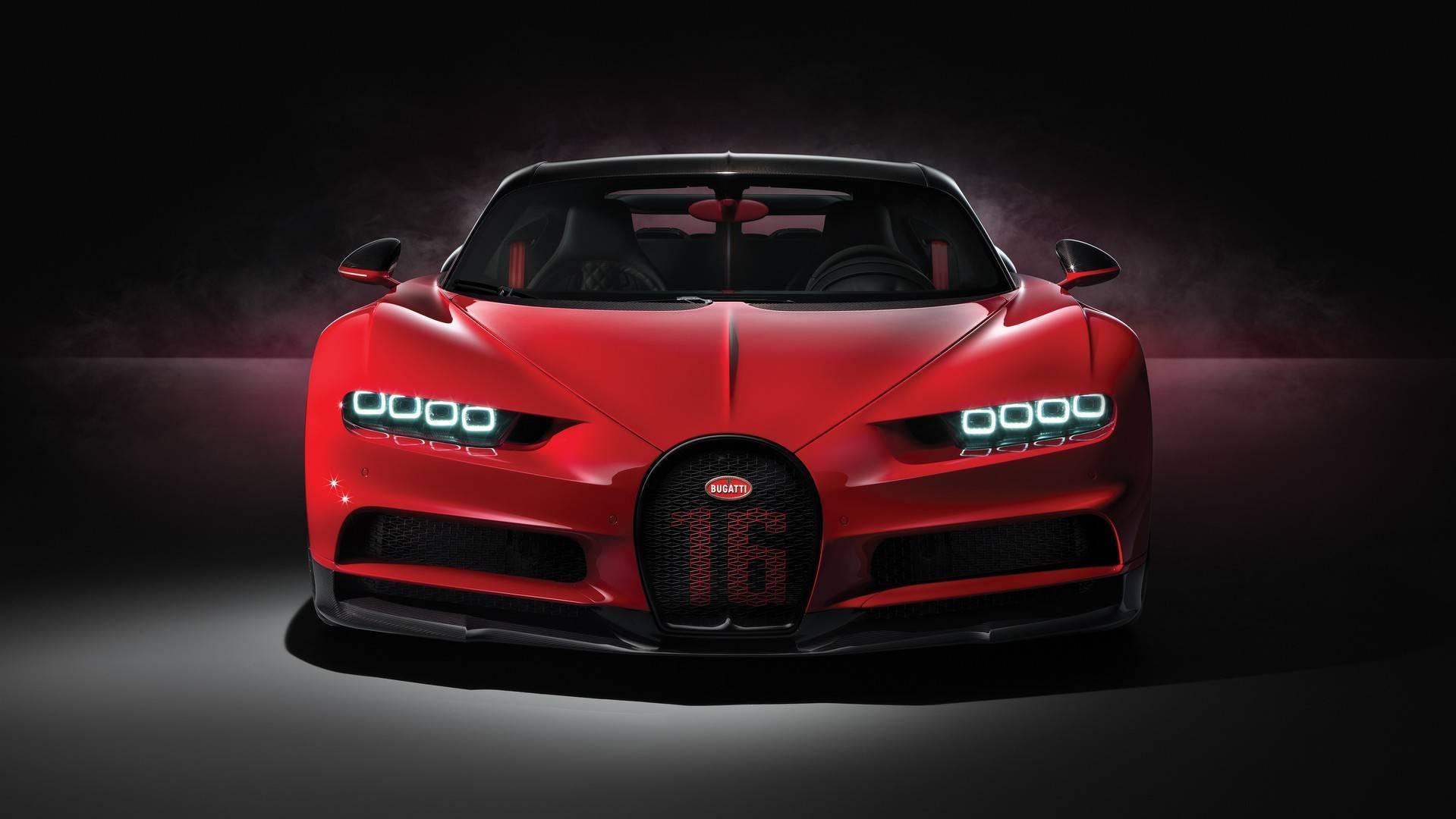 Bugatti Unveils Bugatti Chiron Sport
