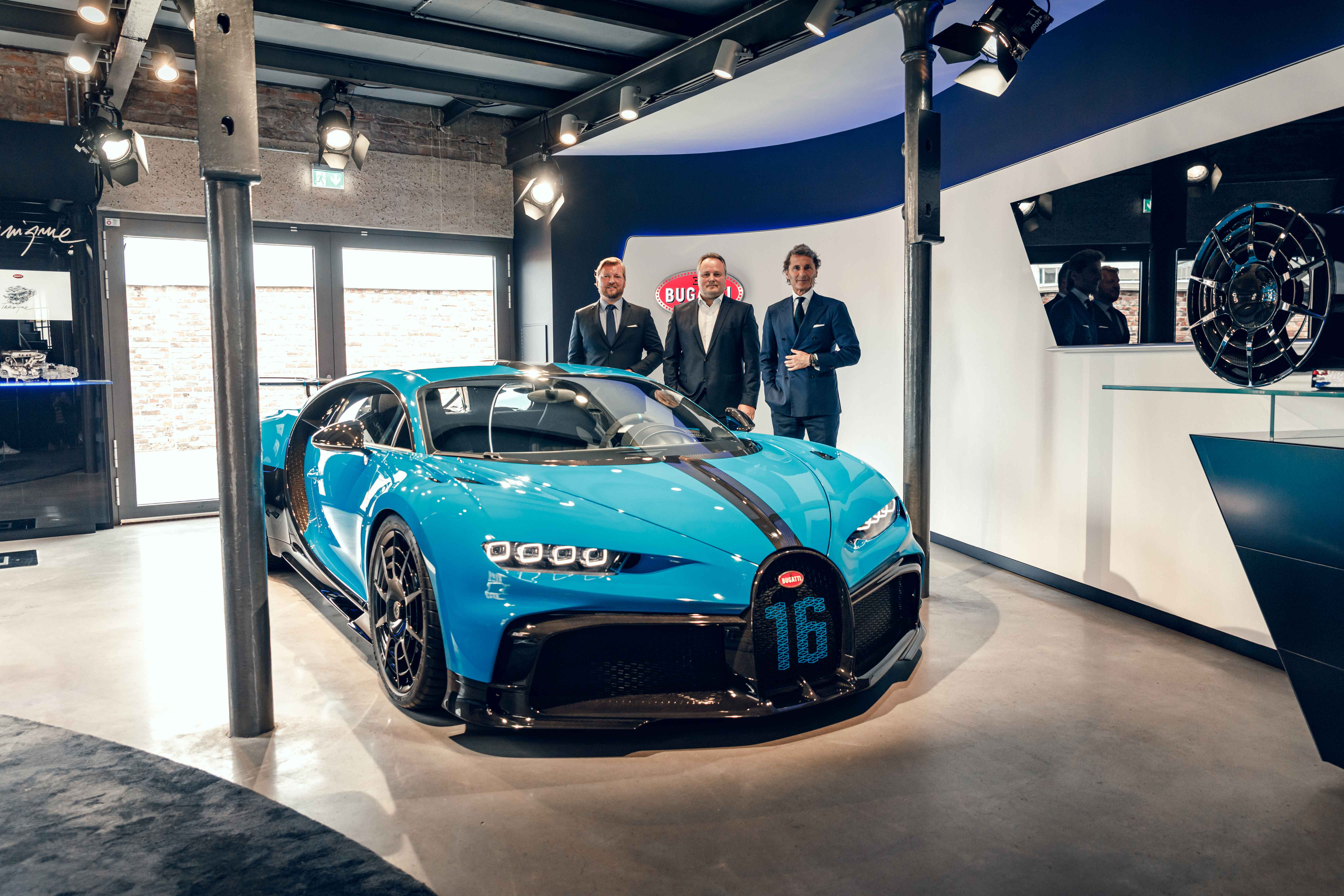 Exclusive European Road Show The Chiron Pur Sport in Frankfurt and Munich