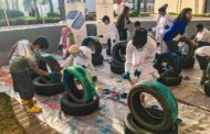 Al Serkal Campaign 'Tires for Smiles' Uses Art to Teach Children about Recycling