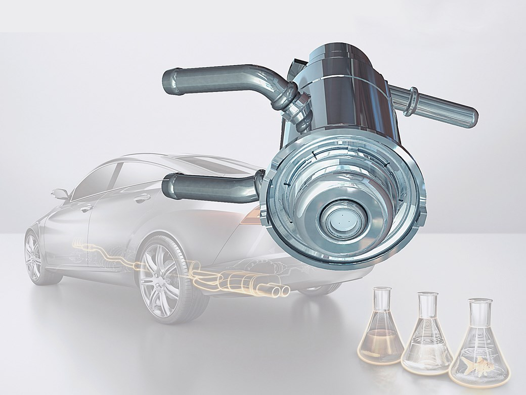 Continental Develops Technology for Superclean Diesel Engine