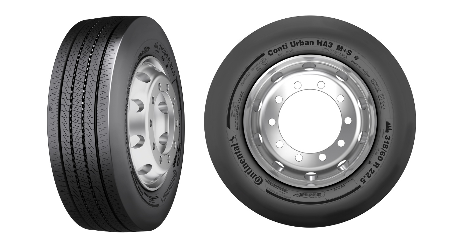 Continental Develops First Tire that has been Optimized for Electric Buses