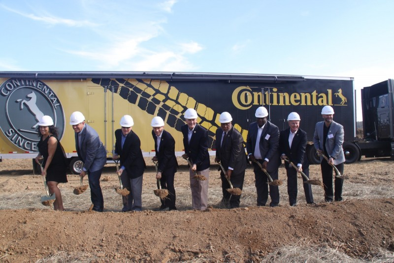 Continental Breaks Ground for New Factory in Mississippi