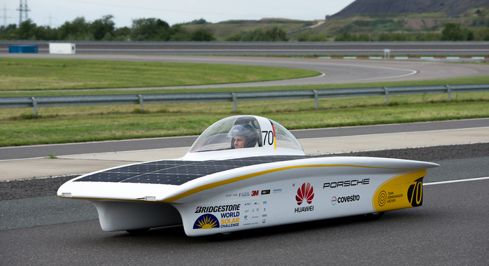 Covestro to Test Bio-based Coatings on World Solar Challenge Car
