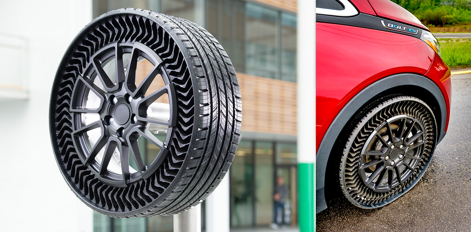 Michelin and GM Collaborate for Airless Tires