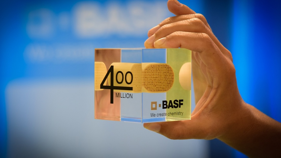 BASF Crosses Milestone of 400M Catalytic Converters