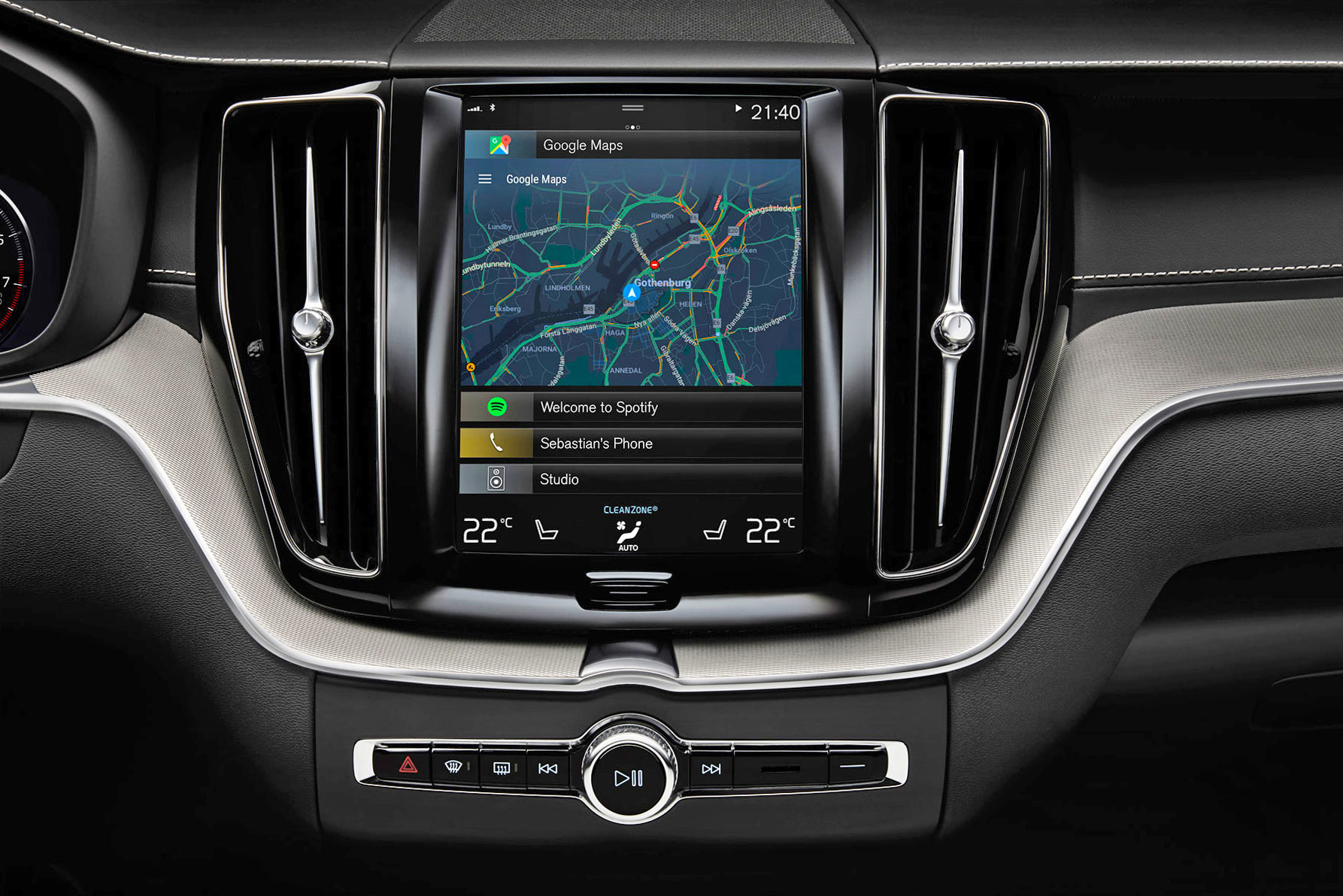 Volvo Teams up with Google to Integrate Android into next generation connected cars