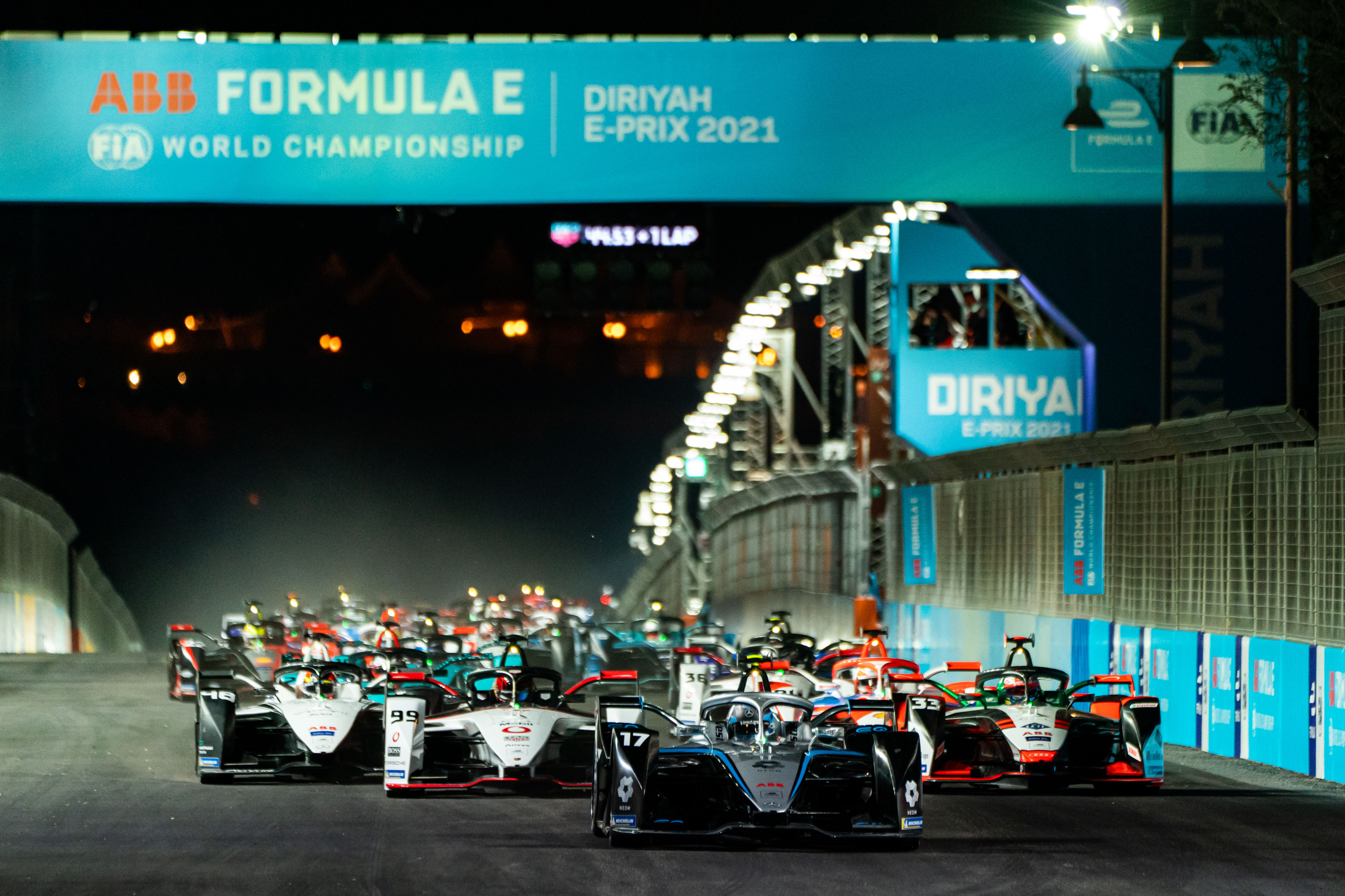 The MICHELIN Pilot Sport EV plays central role as maiden Formula E campaign as a world championship gets off to a flying start