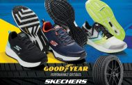 Skechers Partners with Goodyear Tires to Take Shoes to New Heights