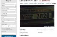 dubizzle's New Number Plates Category Proves to be Outstanding Success