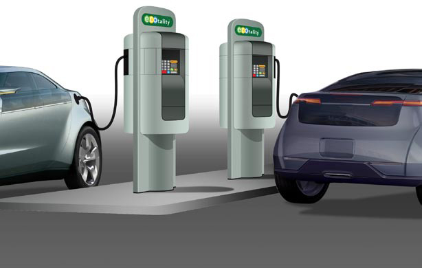 Four Car Manufacturers Team up to Set Up Fast-Charging Network