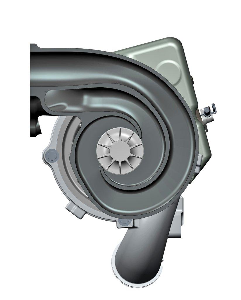 BorgWarner Develops Dual Volute Turbocharger for Petrol Engines