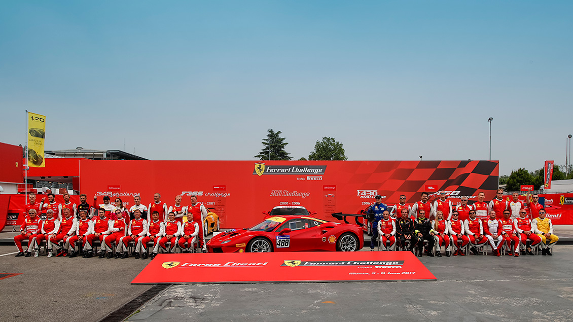 Ferrari Celebrates 70 years of Luxury Motoring