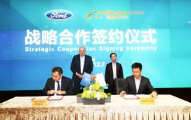 Ford Signs Deal with Alibaba to Enter EV Segment in China