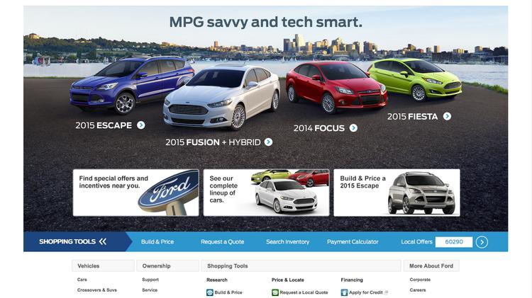 Ford Planning to Use Software to Transform Car Buying Experience