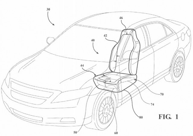 Ford Files Patent for Device that could Minimize Impact of Collision