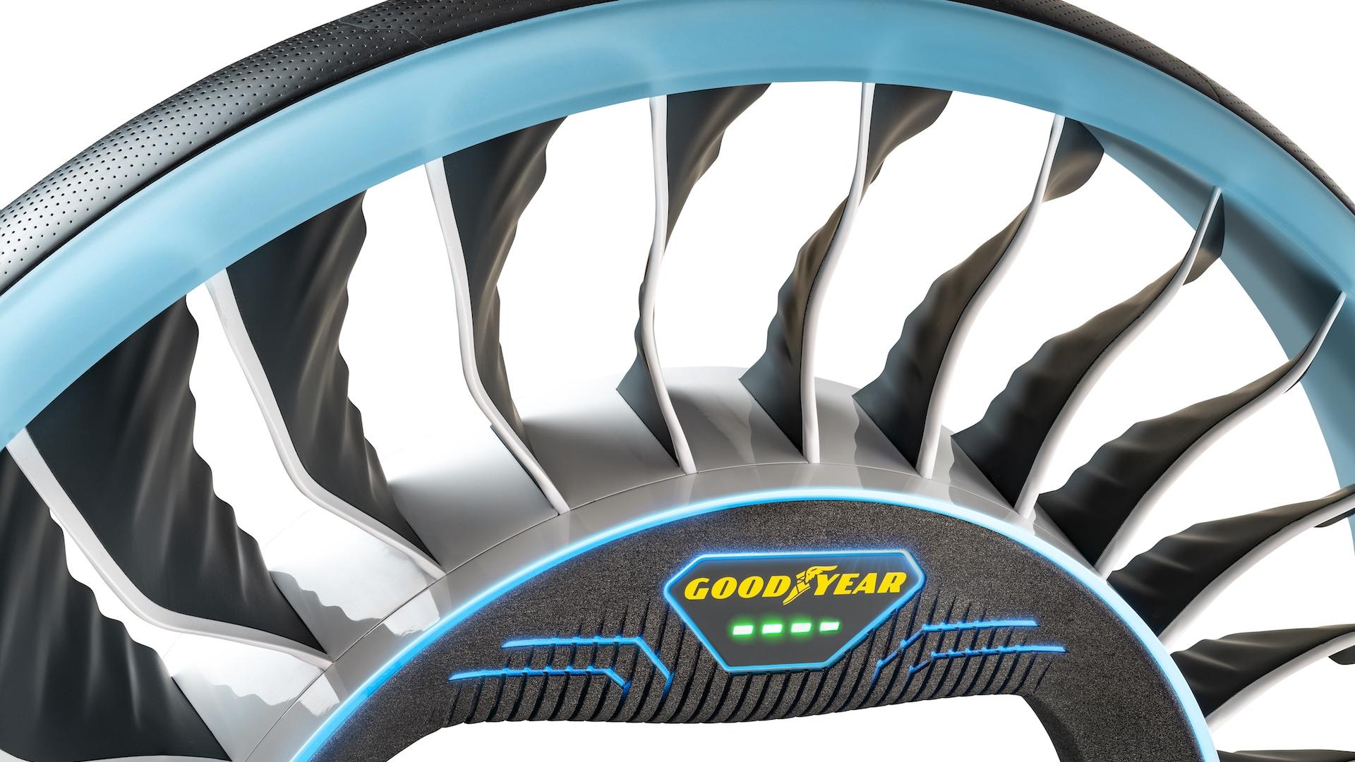 Goodyear Debuts Aero Concept Tire