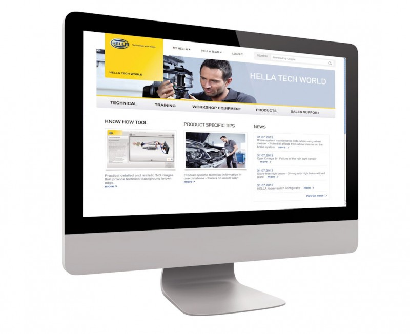 Hella Creates New Online Portal for Customer Support