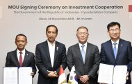 Hyundai Motor Signs MOU for Setting up Factory in Indonesia
