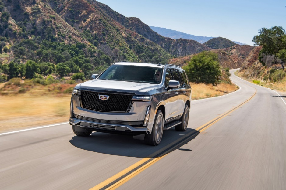 New Levels of Road Confidence Backed by Fun, Power and Safety in the Luxurious Cadillac Escalade