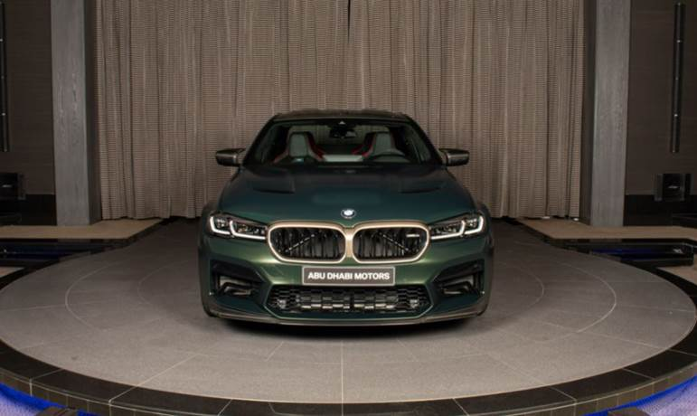 The much-anticipated BMW M5 CS is now available at Abu Dhabi Motors
