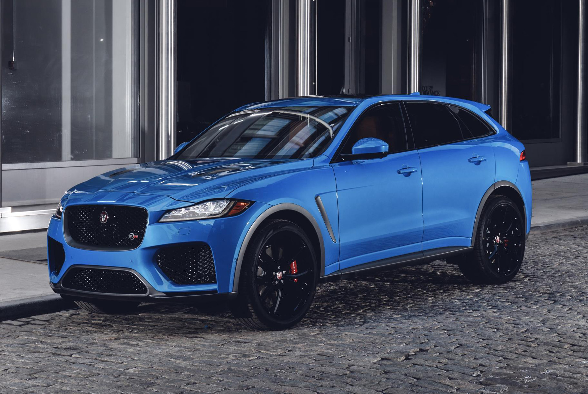 Jaguar Takes F-Pace Svr To The Next Level With Enhanced Performance And Design