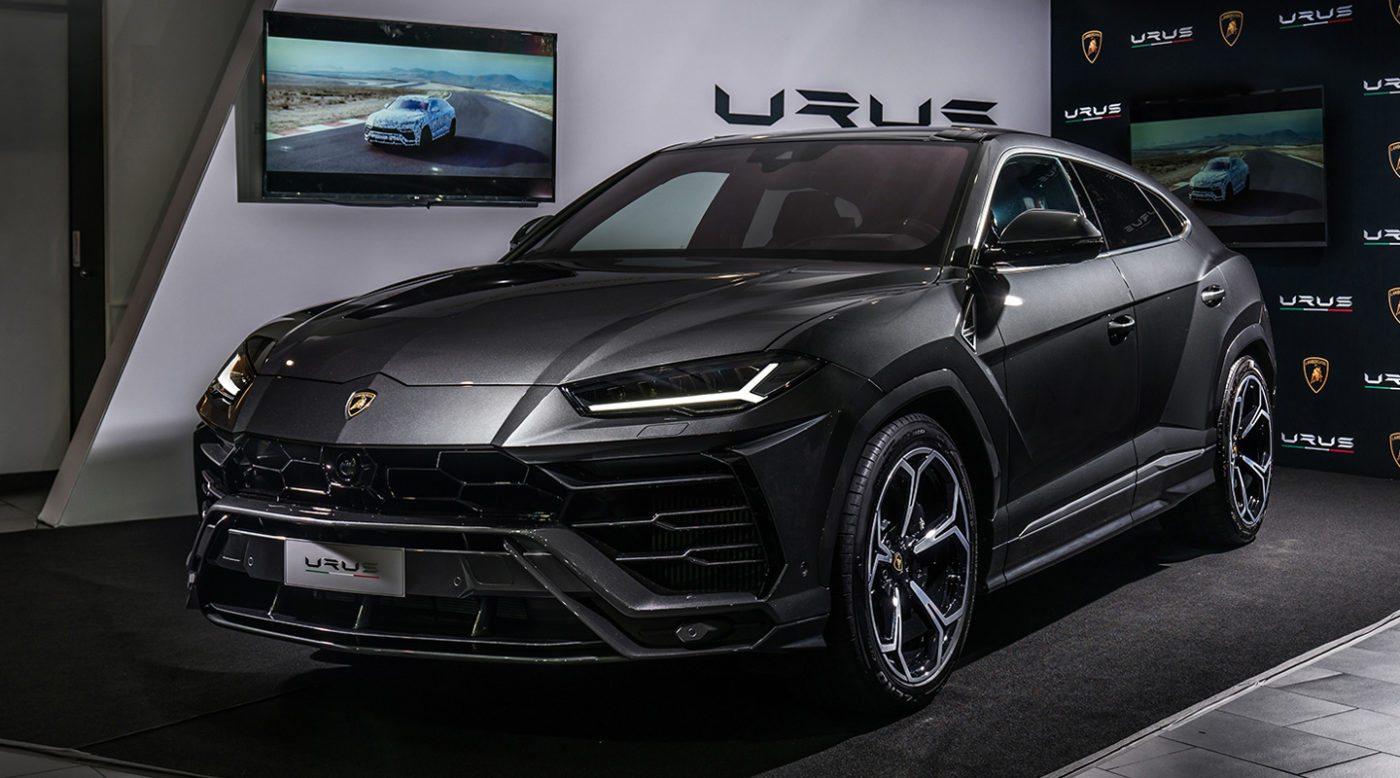 Lamborghini Reveals Plans for Urus Plug-In Hybrid