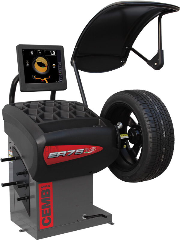 New Diagnostic Wheel Balancer from CEMB Comes with Laser Pinpointing