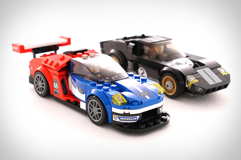 LEGO LE MANS FORD GT CARS