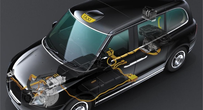 eAxle from GKN to be Used in the Most Advanced Electric Taxi