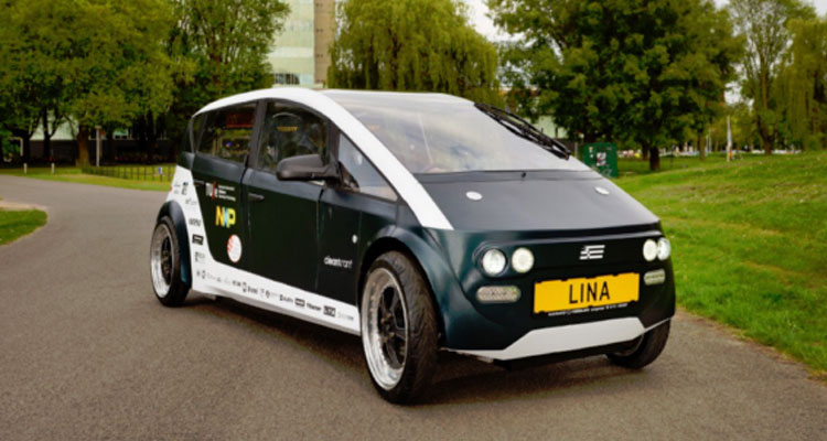 Eindhoven University Students Make Car from Natural Materials