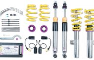 KW coilovers for all Mercedes-A-Class sedans
