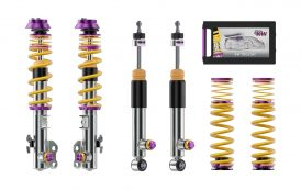 KW Clubsport 3-way coilover with new KW valve technology