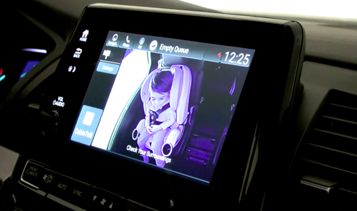 Magna Develops Rear Seat Camera