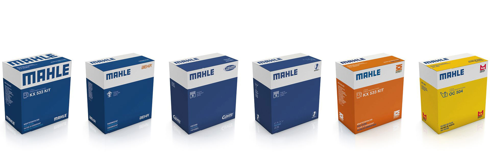 Mahle to Use New Packaging from 2019