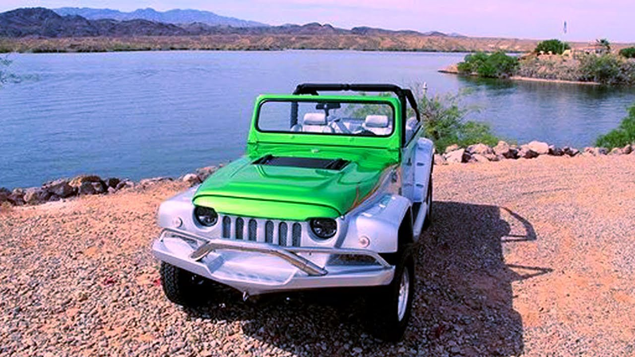 Prodrive Plans to Make Amphibious Production Vehicle