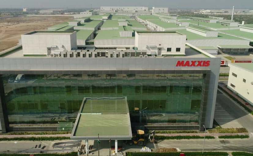 Maxxis Tyre Opens First Manufacturing Facility in India