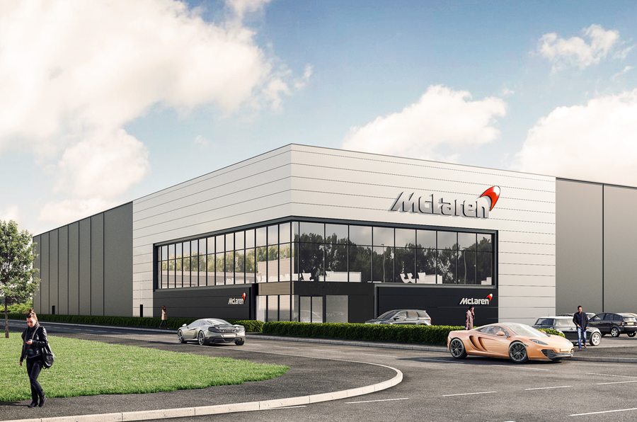 McLaren Announces New GBP 50 million Chassis Facility in UK