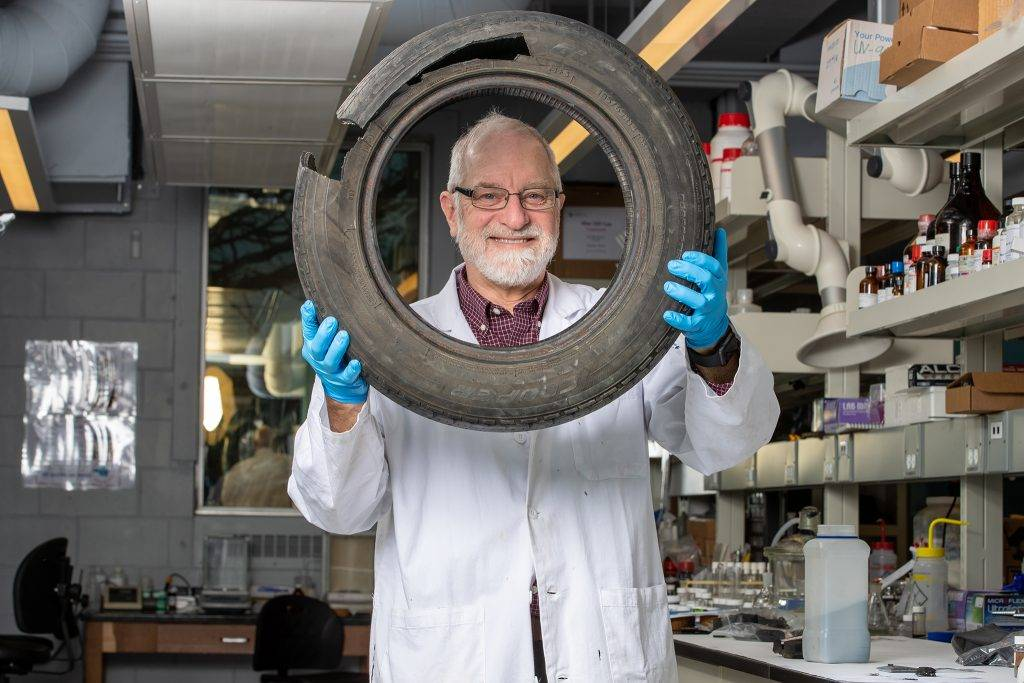McMaster University Team Develops New Technique for Recycling Old Tires