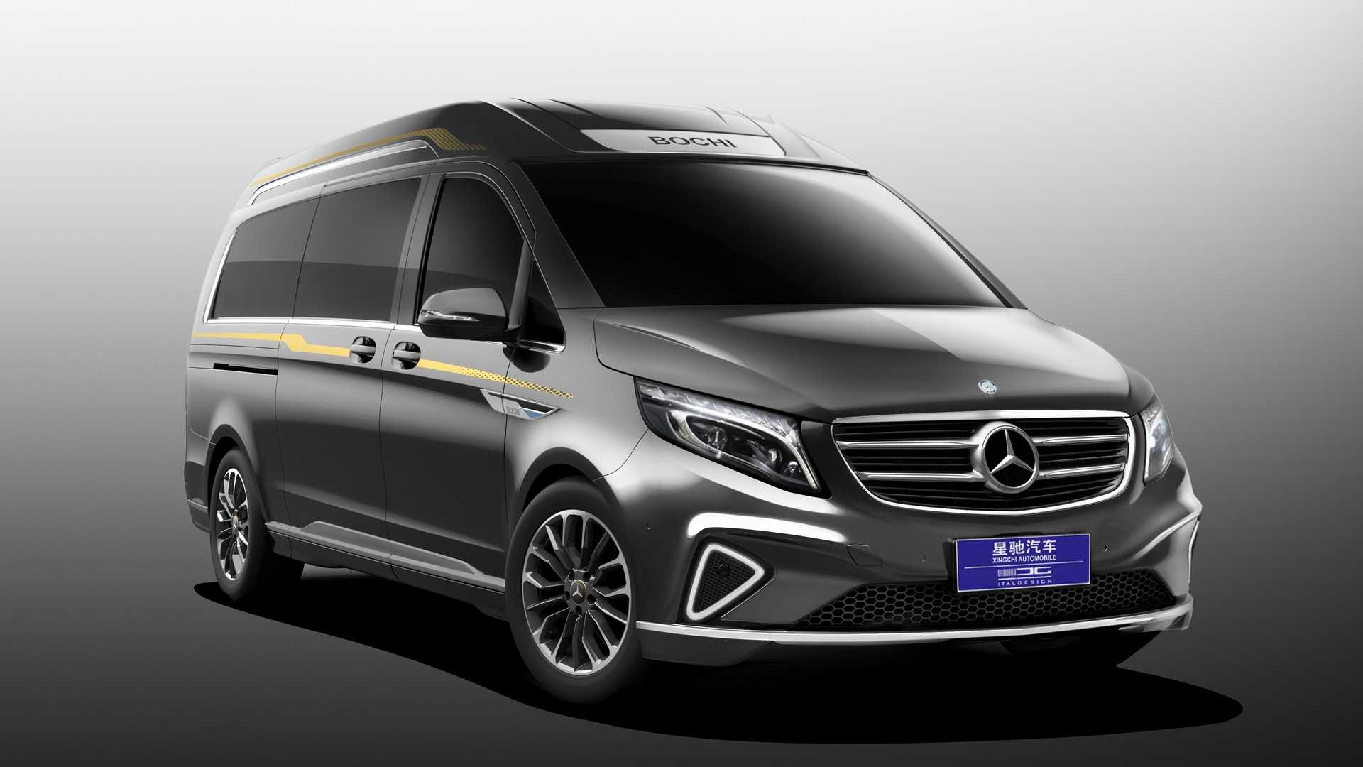 Italdesign Makes Special Version of Mercedes V-Class