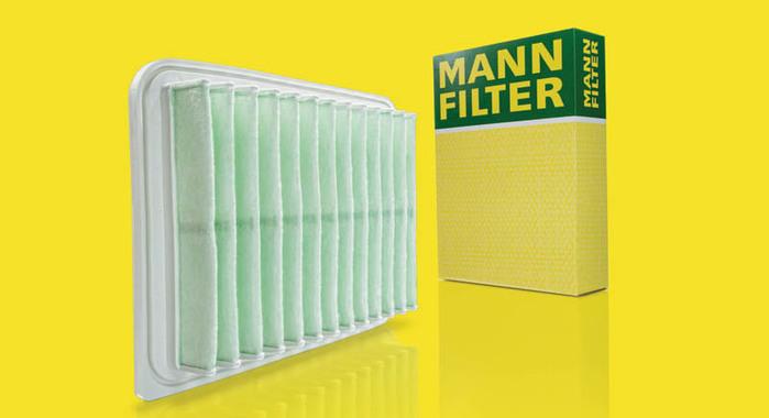 Mann+Hummel Develops Air Filter made from Recycled Fibers