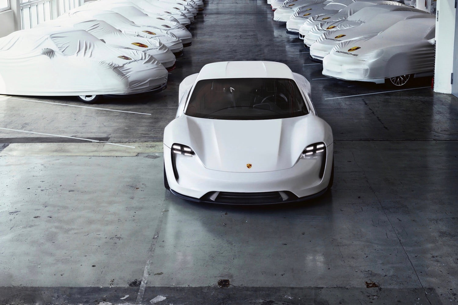 Porsche Renames Mission E as Taycan