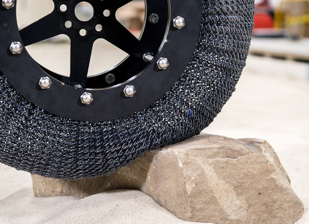 NASA Offers Alternative Non-Pneumatic Tyre for Licensing